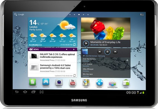 Samsung Galaxy Tab 2 feature