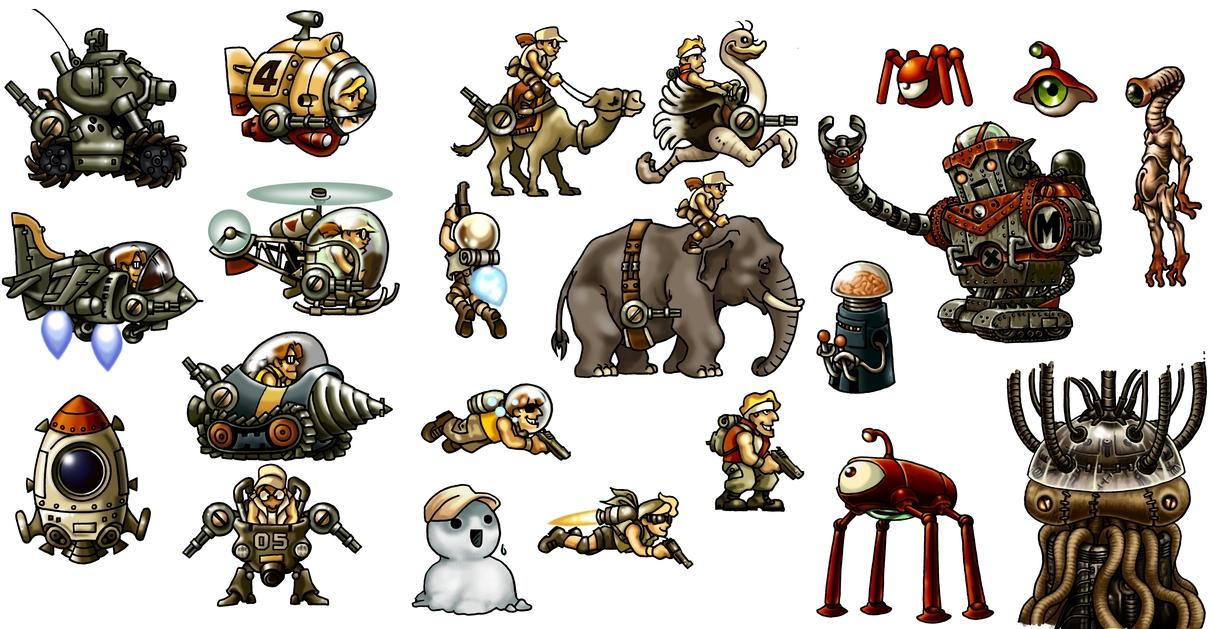 metal slug machine