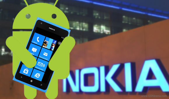 Nokia Android mobile phone