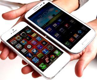iPhone5 vs Samsung Galaxy S3