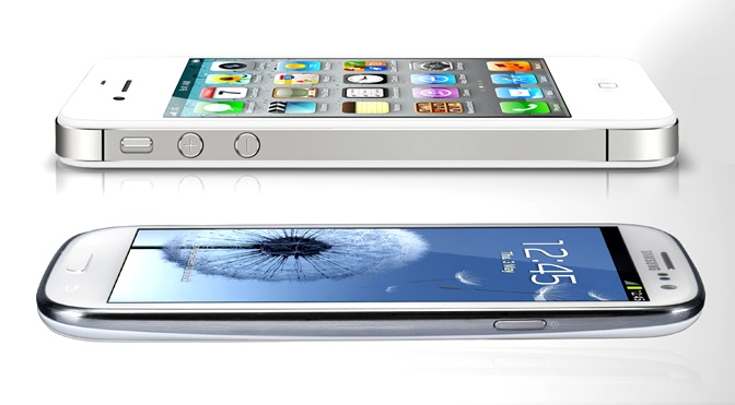 iPhone vs Samsung Galaxy S3