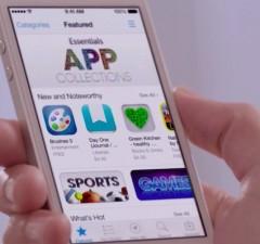 Apple iOS Android app downlaods revenue