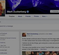 Mark Zuckerberg Post Spam